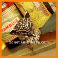 Кольцо New Vintage Rings Long Rabbit Ear Jewelry ZHRS02-117001