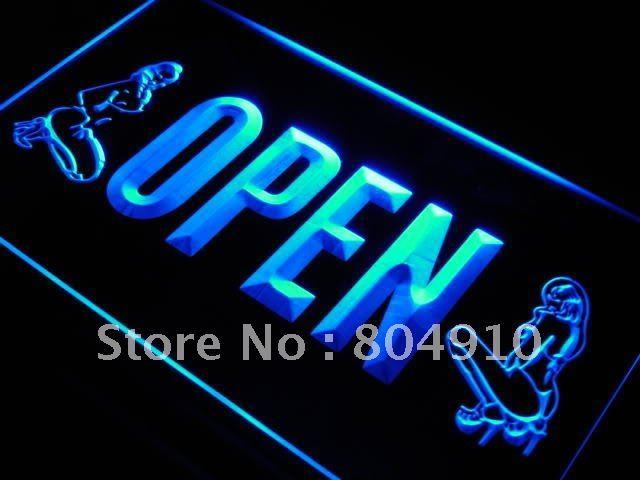 Buy sign, neon sign, advertising sign, 129 OPEN Sex Exotic Dancer Shop Bar ...