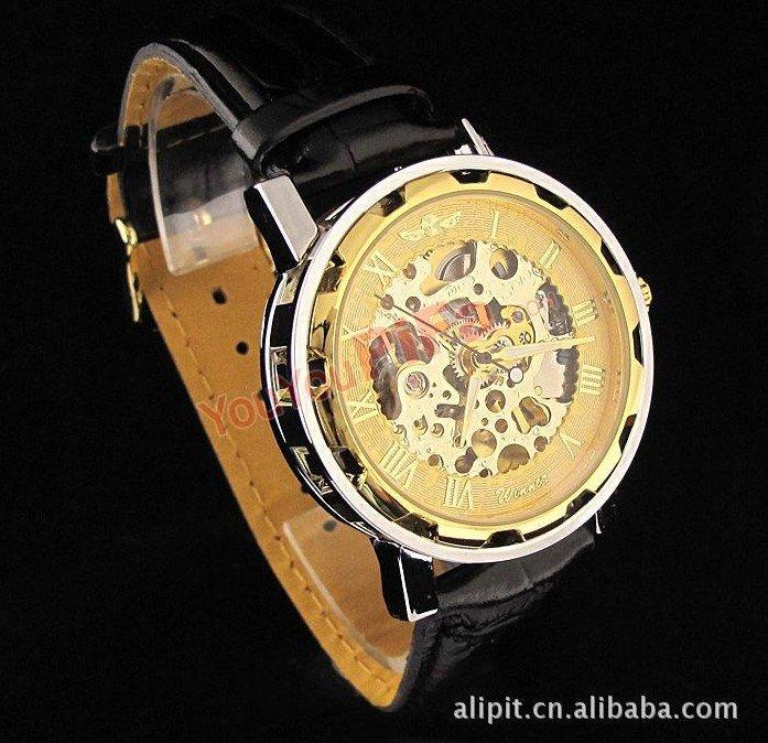 Механика. . Скелетоны, Выполненные из гипоаллергенных материалов, эти необычные наручные часы надежны
