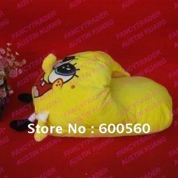Wholesale 5pcs/Lot 50cm*30cm Huge Warm Spongebob Slippers Stuffed Spongebob Slippers Winter Slip ...