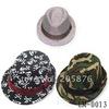 Latest Boy's and Girls fedora hat baby summer topee kids canvas jazz cap cowboy hat children bucket hat 10pcs/lot LM-0013