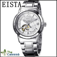 Наручные часы 2012 New Unique Desgin Brand EISTA 3016-2G Genuine Leather Strap 3ATM Water Resistant High Quality Gift Box