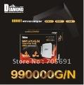 Factory Price 10pcs/lot wireless adapter Black-diamond 990000G/N 58dbi 3800mw usb wireless wifi adapter