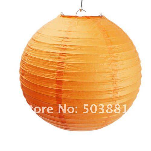 Chinese Lantern 10 Paper Lantern Wedding Party Christmas Decoration Orange