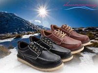 """shoesmansway"" 2012 new arrival slip-on bardian mens fashion casual wear shoes size 38-43 (Plum, Gray, Black) / Free Drop Ship"