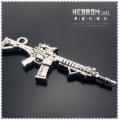 Free shipping(50pieces)Silver Jewelry Gun Pendant(3305#)