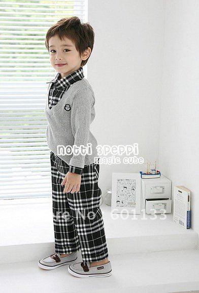 Ready Stock 6pcs Baby boys clothes set boys T shirt & Pants boys clothes ...