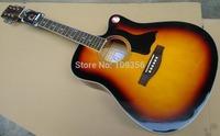 USA KON thin body brand 41inch  acoustic guitar