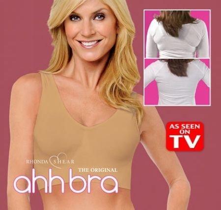 Ahh Bra Sexy Bra Slimming Underwear Breast Massage Seamless Microfiber ...