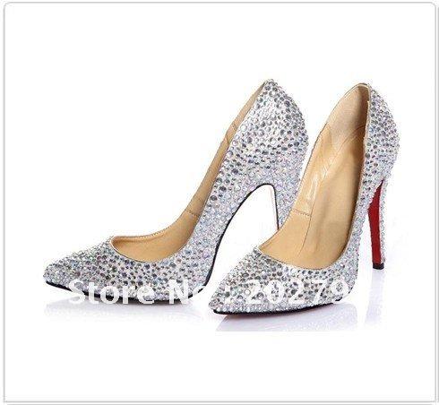 2011 design the bride highheeled shoes diamond wedding shoes
