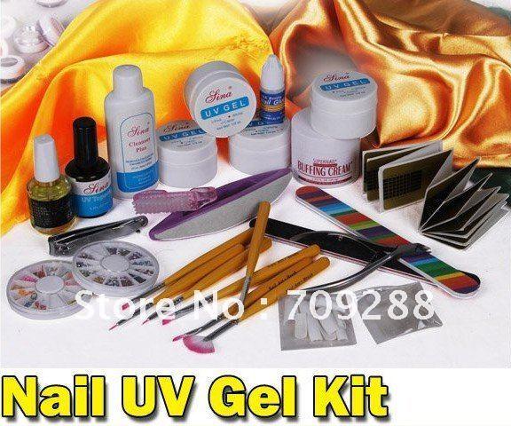 Uv Gel Nail Art Supplies