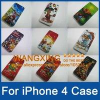 для iphone случае, для случая iphone 4, iphone 4s высокого качества натуральной кожи случае