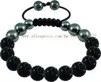 Браслет Shamballa Bracelets, New Shamballa Bracelets crystal Micro Pave CZ Disco Ball Bead PX 46