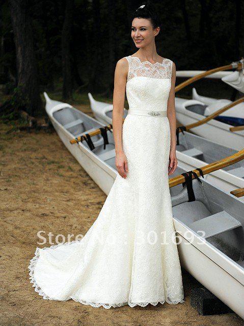 lace wedding dresses 2012