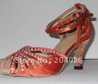 Обувь для танцев N-007 purple new style Ladies Ballroom latin dance shoe