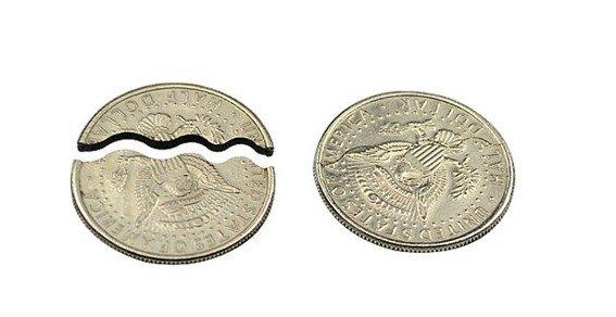 Монета для фокуса своими руками фото