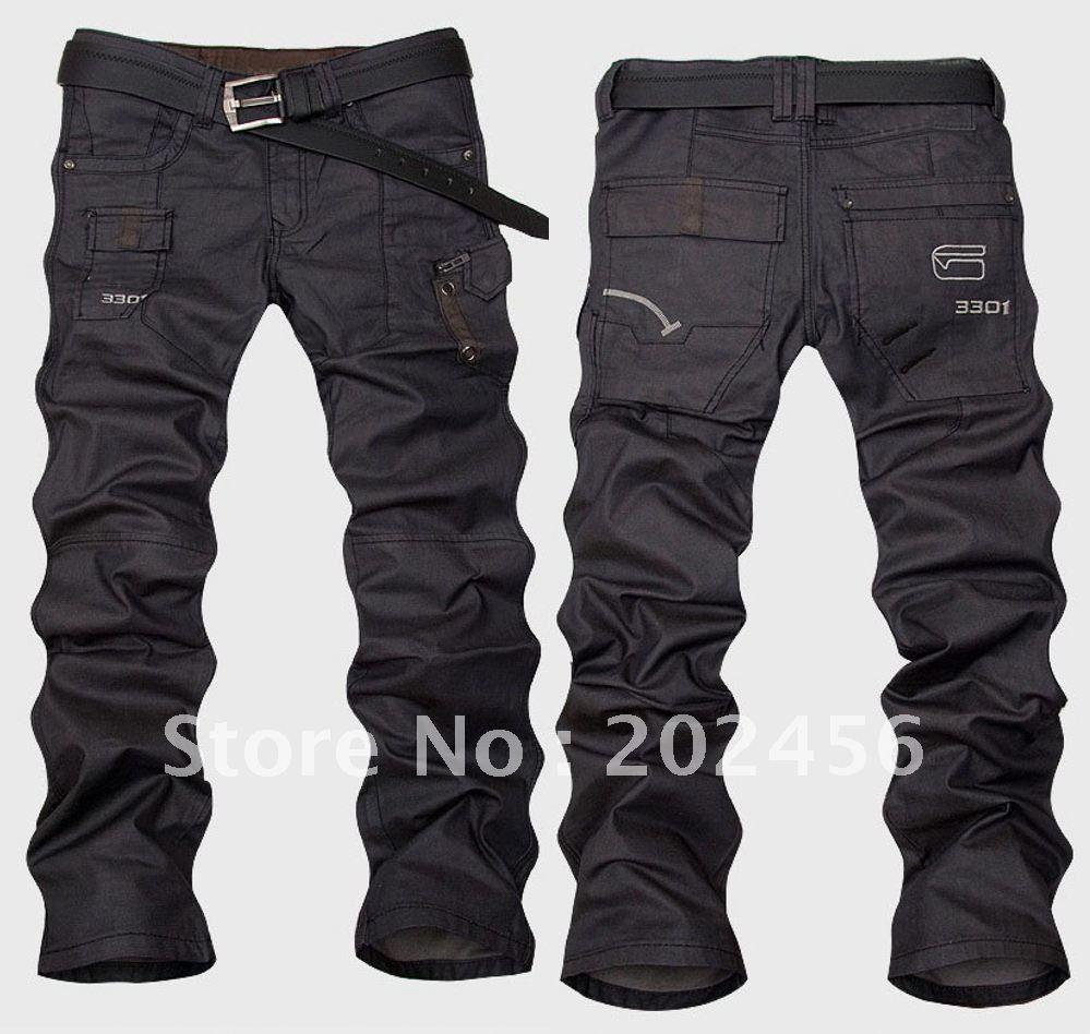 Long Black Jeans - Jeans Am