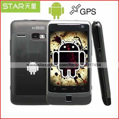 Android 2.3 телефона X15i MTK6573 ЗВЕЗДЫ 3G Freeshipping 4.3 телефон
