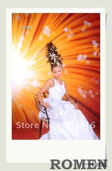 Wholesale Wedding Background Photo Studio Muslin Painted Background