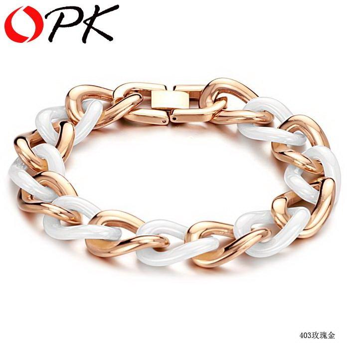 White Bracelet For Men Mens Chunky Gold Bracelet