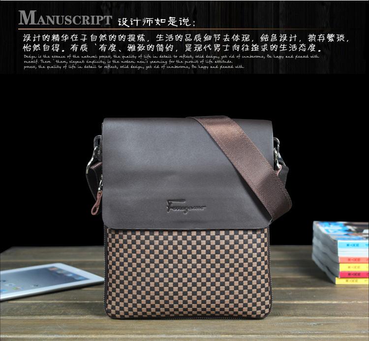 Vertical Messenger Shoulder Bag 94