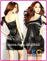 Одежда и Аксессуары Retail ] Fashion SEXY Off Shoulder Slim Fit Club Wear Cocktail Dress S10530-2 white