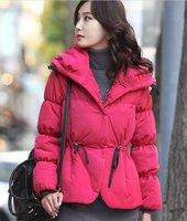Женские толстовки и Кофты Korean fashion casual zipper decoration loose bat sleeve hooded sweatshirt suit Hoodies 2 colors! S-M-L W022