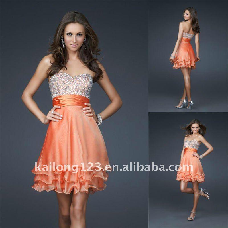 A Line Party Dress - Ocodea.com