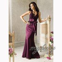 Платье для подружки невесты Custom Made Strapless Sweetheart Chiffon Pleated A-line Floor Length Bridesmaid Dress Wedding Party Dress LF364