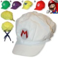 Free Shipping! Wholesale Cute Cartoon Super Mario Cotton Hat / Cap