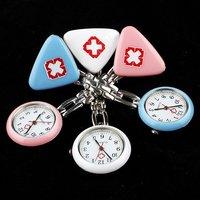 30pcs медсестра силиконовый брошь часы для девочек детей хорошо для подарочный микс много комбинат доставка wx22