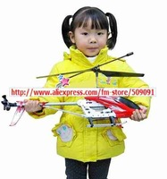 "Newest  53"" GT QS8006 Co-axial  Biggest  3.5CH RC Radio remote control Helicopter w Gyro Blue Free shipping 10pcs/lots"
