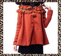 Женская одежда из шерсти DEMONSTYLE women's jacket, lady's coat, A09342