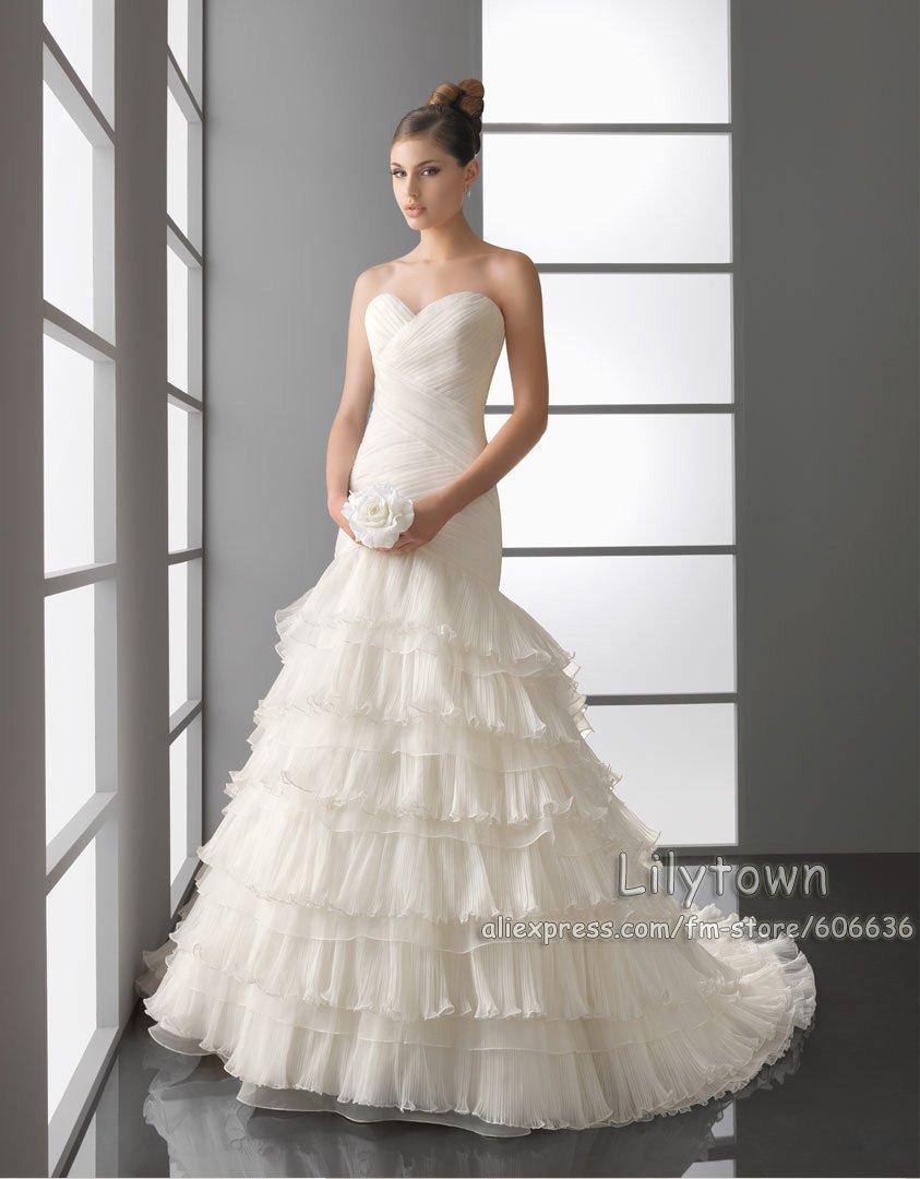 up Stunning Wedding Dress
