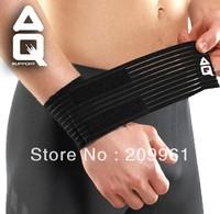 Защитный фиксатор поясницы AQ high quality professional football basketball badminton Adjustable Waist protector support Waist brace