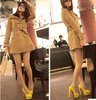2012 HOT women shoes evening party Black Red Gray Yellow shoes Platform High Heels Pumps #3083-12