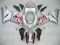 Free Shipping Motorcycle Bodywork Fairing Kawasaki ZX6r 2005-2006 33 white black red
