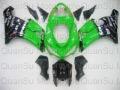Free Shipping Motorcycle Bodywork Fairing Kawasaki ZX6r 2005-2006 44 green black