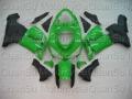 Free Shipping Motorcycle Bodywork Fairing Kawasaki ZX6r 2005-2006 66 green