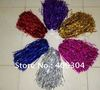 Free Shipping.Pompom,Cheering pompom,Metalic Pom Pom,Cheerleading products,30G,6 colours