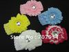12pcs/lot Free Shipping Fashion Kids Girls Headband. Big Flower Wide Soft Crochet Elastic Headband. Cute Head band