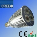 E17 LED Spotlight Bulb 3*3W Dimmable AC85-265V Warm White 3000k 60 Degrees 10pcs/lot Wholesale &amp; Retail