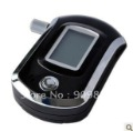 AT6000 Black Digital Alcohol Breathalyzer Breath Tester LCD Breathalizer Tester Device Machine Free shipping