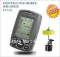 promotional Depth Sonar Big LCD Fish Finder FishFinder Alarm 100M Free Shipping fishing fishing ff108 iure,ice fishing finder