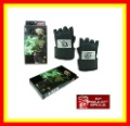 Free Shipping HOT SALE Cosplay costume Naruto Hatake Kakashi PU black gloves Cosplay collectable
