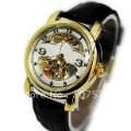 Free Shipping High Quality Men's Specialty Luminus Hollow Dial Mechanical Watch