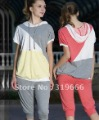 Casual maternity clothes, pregnant women summer hoodies with capris, sports wear, leisure dress set, Free shipping