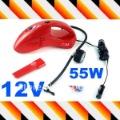DC 12V 55W Fashion Auto vacuum cleaner Mini Handheld Car vacuum cleaner