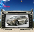 "2012 cheapest 7"" Toyota Venza car dvd with GPS Bluetooth Win CE6.0 128M memory Ipod Free Shipping"