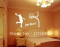 Sport Basketball Dunk 100*150cm wall paper decor decals home stickers art pvc vinyl Mrals A110